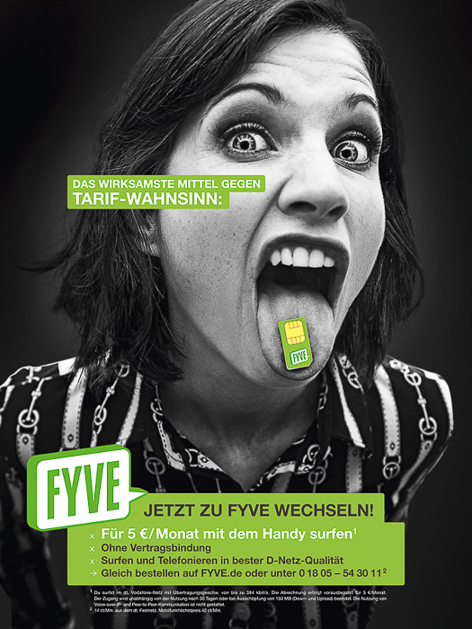 Telefongesellschaft Fyve. Businessshooting