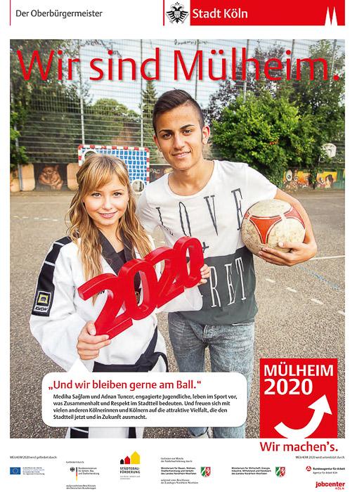 Plakatkampagne für die Stadt Köln