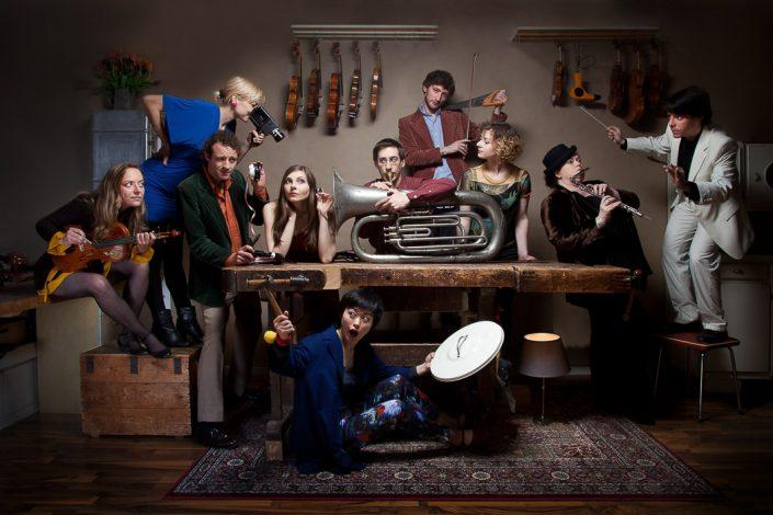 Inszenierte Band