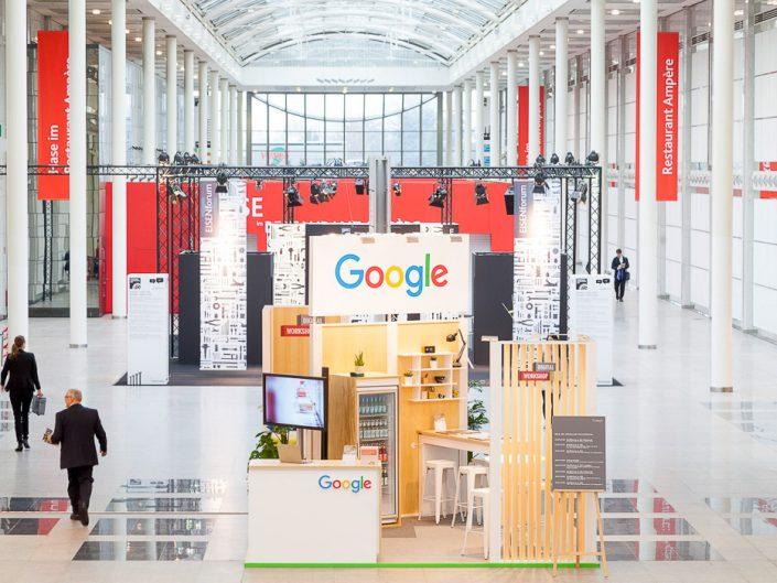 Google auf der Messe in Köln