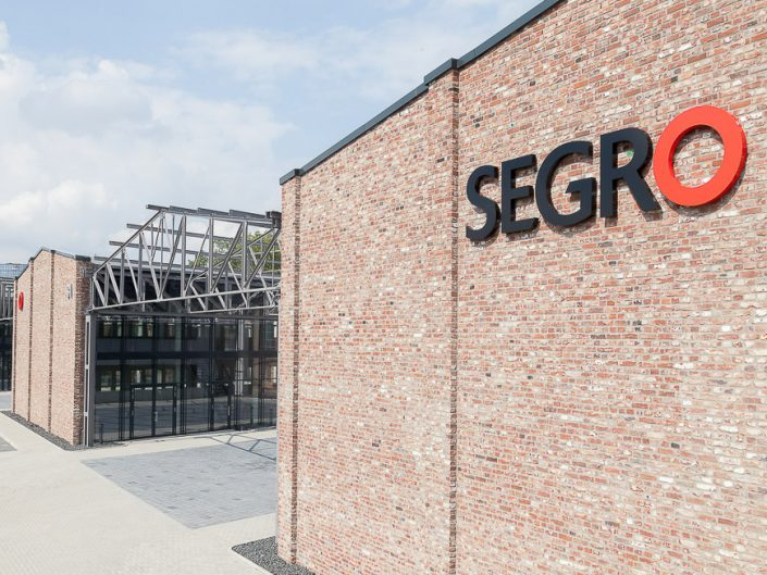 Betriebsgelände von Segro. Fotos aus der Luft. Fotograf Köln