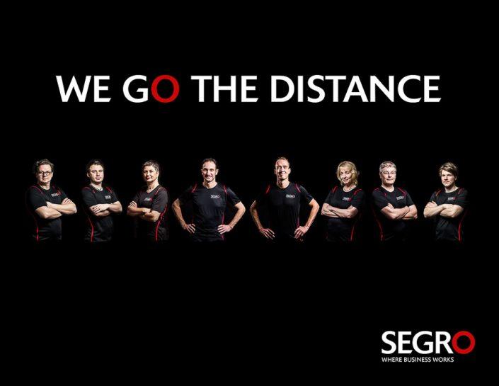 Segro Shooting für den Düsseldorfer Marathon