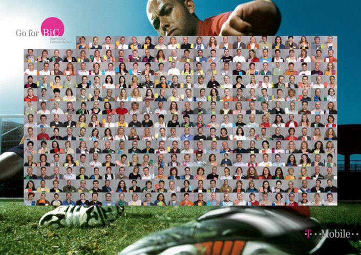 T Mobile Plakatkampagne